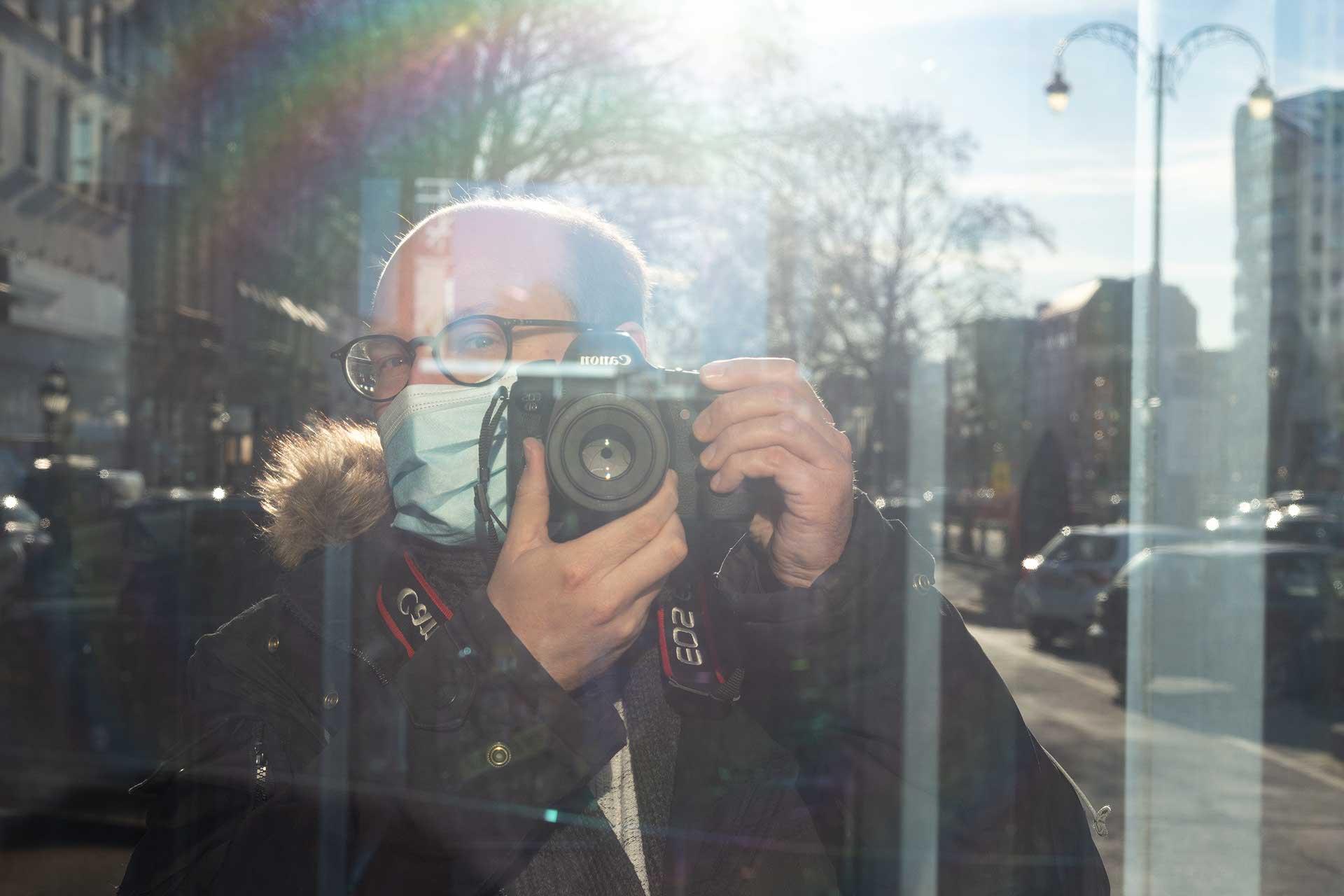 Self portrait (photo: Jochem Oomen)