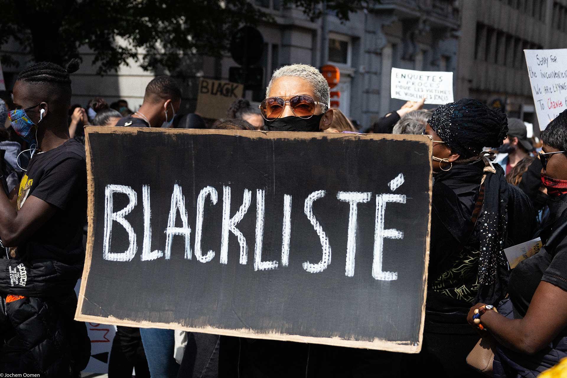 Black Lives Matter Brussels (photo: Jochem Oomen)
