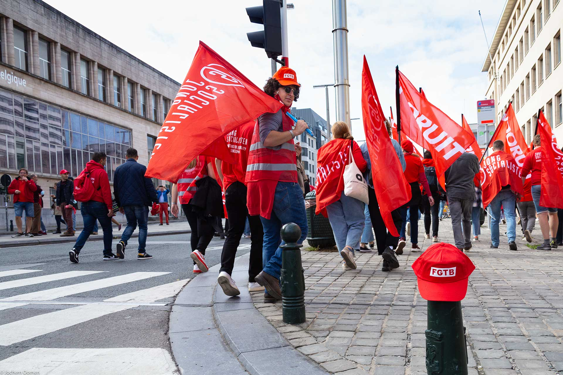 National strike Brussels (photo: Jochem Oomen)