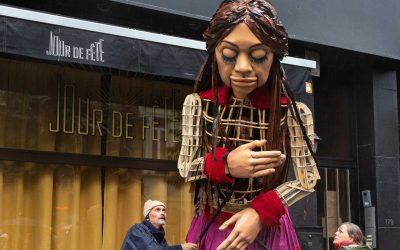 Walk with Amal through Brussels