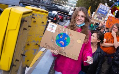 March Back To The Climate in Brussels